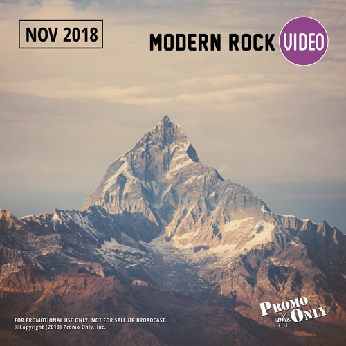 Modern Rock Video November, 2018 Album Cover